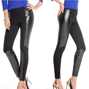 Guess by Marciano vegan black leather leggings